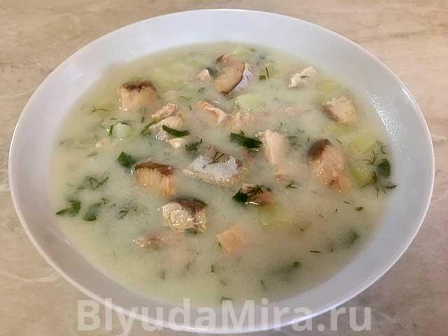Финский рыбный суп с молоком - пошаговый рецепт