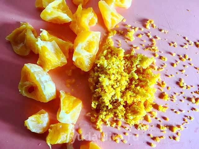 Апельсин и цедра