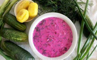 Литовский холодный суп