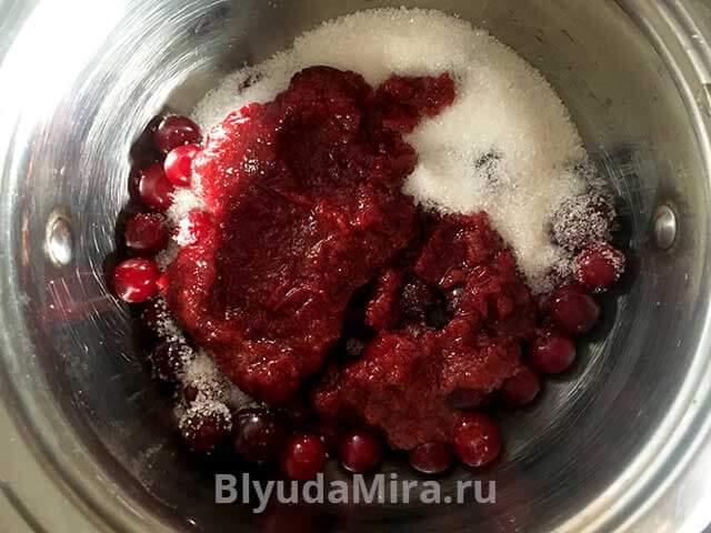 Пюре вишни