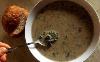 Грибной суп по венгерски