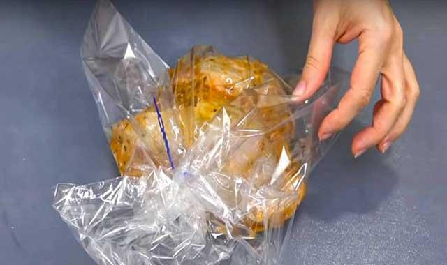 Мясо в пакете