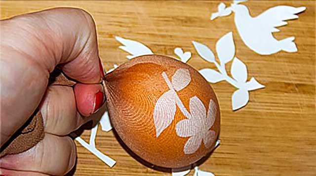 Яйца декорированные фигурками