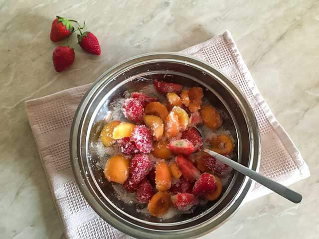 Плоды с сахаром