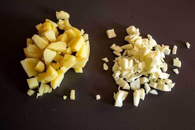 Картофель и белок