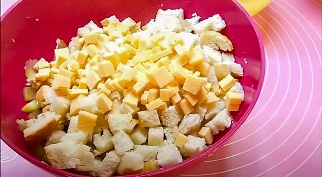 Хлеб и сыр