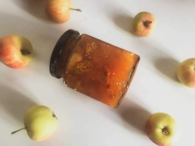 Варенье из яблок с физалисом