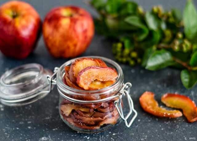 Сухое варенье из яблок